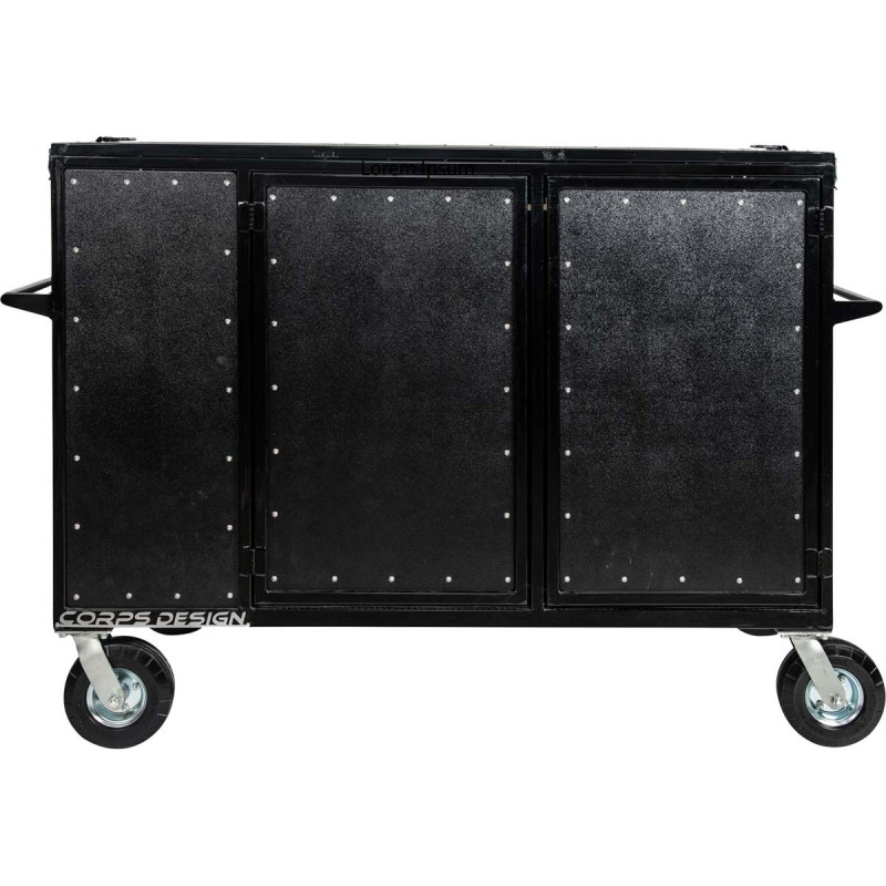 Corps Design Double Mixer Cart