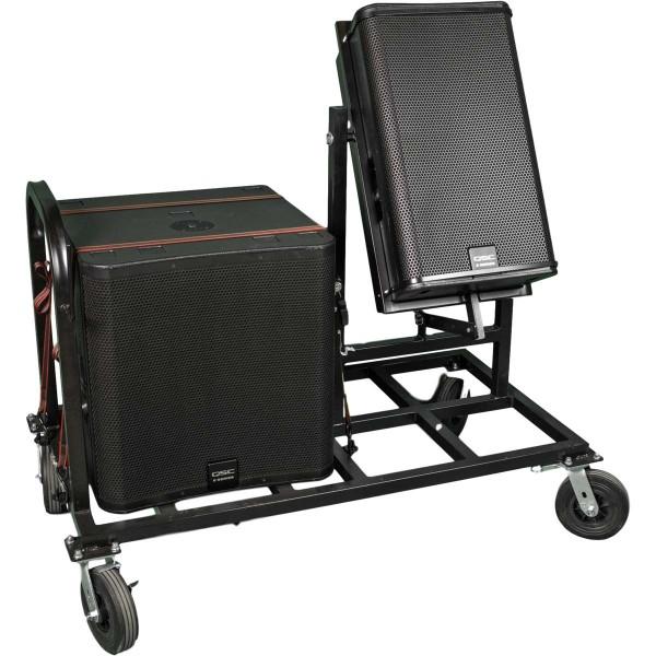 Dual Speaker Cart
