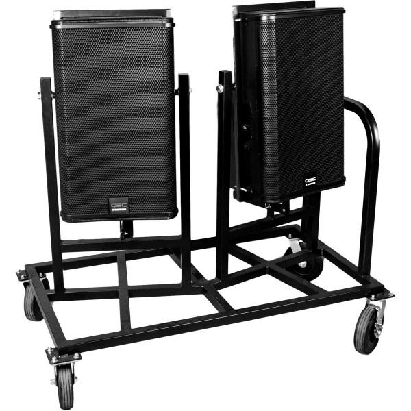 Dual Main Speaker Cart