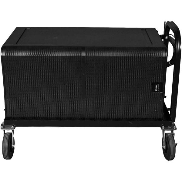 Dual Subwoofer Cart