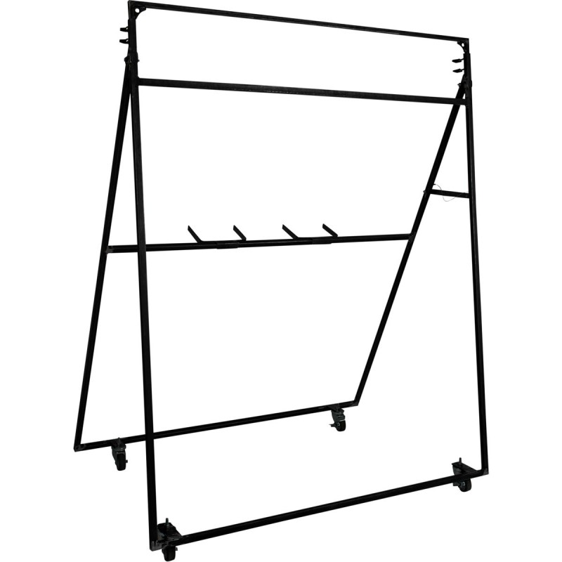 Corps Design Adjustable Rolling Vertical Backdrop