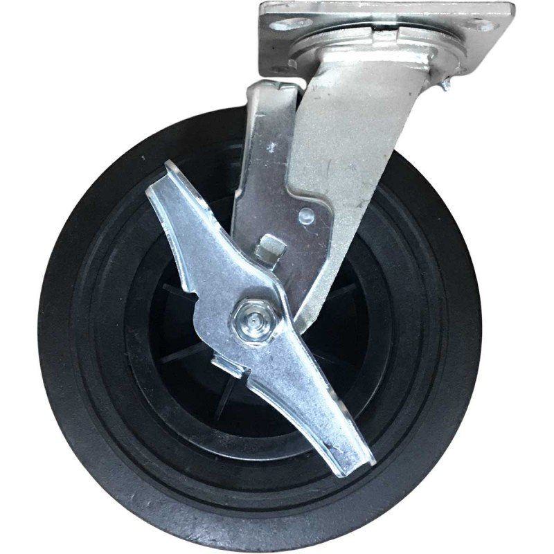 Corps Design Solid Rubber Replacement Casters